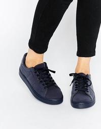 Кроссовки на шнуровке ASOS DREW - Темно-синий