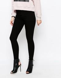 Облегающие джинсы скинни Cheap Monday - Чистый черный