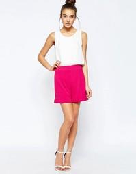 Яркие шорты строгого кроя Hedonia May - Розовый