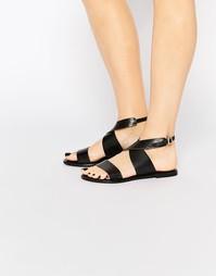 Кожаные сандалии Vero Moda Premium - Черный