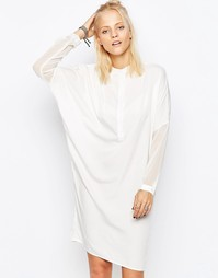 Платье из крепа Religion Instinct - Белый