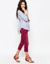 Укороченные винтажные джинсы Free People - Фиолетовый