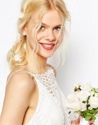 Заколки для волос с цветочной отделкой ASOS WEDDING - Мульти