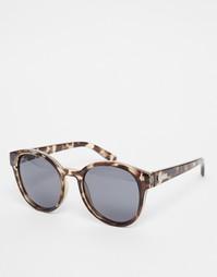Круглые солнцезащитные очки с поляризованными стеклами Le Specs Exclus