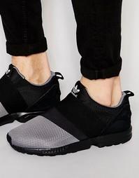 Кроссовки-слипоны Adidas Zx Flux - Серый