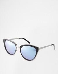 Солнцезащитные очки кошачий глаз с сиреневыми стеклами Quay Australia