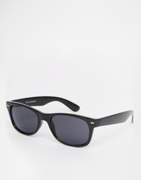 Квадратные солнцезащитные очки Jack Wills Road - Черный