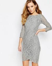 Кружевное платье Supertrash Dhinker - Серое кружево