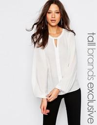Рубашка с рукавами колокол Y.A.S Tall - Кремовый