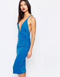 Платье с глубоким V-образным вырезом Bec & Bridge Electric