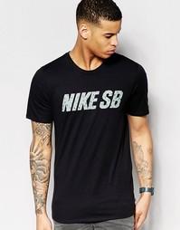 Черная футболка Nike SB Little Dude 789437-010 - Черный