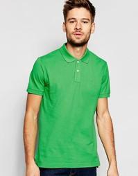 Узкая футболка-поло из ткани пике с короткими рукавами Esprit
