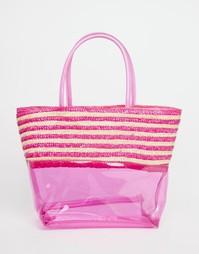 Небольшая пляжная сумка Carpisa - Fuschia