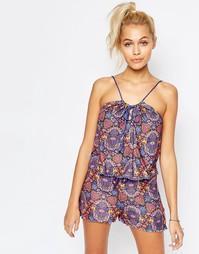 Пижамный комплект с шортами Chelsea Peers - Разноцветный