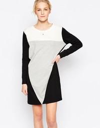 Платье-свитшот в стиле колор блок JDY - Черный
