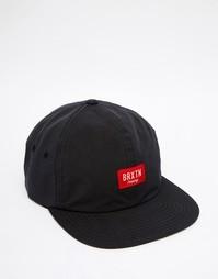 Регулируемая кепка Brixton Hoover - Черный