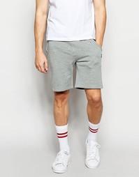 Трикотажные шорты Jack & Jones - Светло-серый меланж