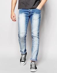 Светлые джинсы с покрытием Loyalty & Faith - Синий