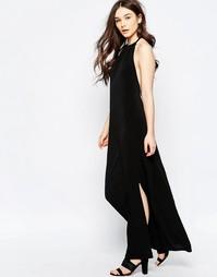 Платье макси Wal G - Черный