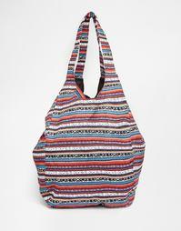 Пляжная сумка в полоску Vero Moda - Мульти