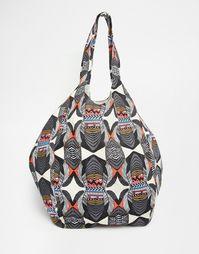 Пляжная сумка с принтом Vero Moda - Мульти
