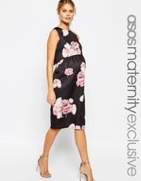 Платье миди для беременных и кормящих мам ASOS Maternity SALON