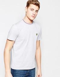 Серая футболка с логотипом Lyle & Scott Ringer - Серый