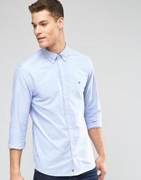Синяя оксфордская рубашка классического кроя Tommy Hilfiger - Синий