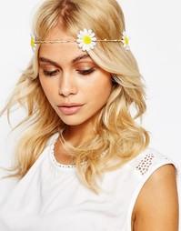 Заколка для волос с цветочным дизайном ASOS - Белый