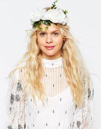 Украшение для волос с цветами ASOS WEDDING - Белый