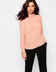 Рубашка с длинными рукавами Y.A.S Amia - Румяный розовый