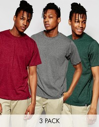 Комплект из 3 футболок Dickies - Мульти