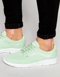 Зеленые кроссовки Vans Iso 1.5 V4O0IST - Зеленый