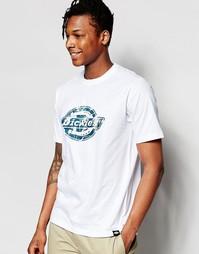 Футболка с логотипом Dickies - Белый