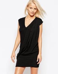 Облегающее платье с V‑образным вырезом Religion - Jet black
