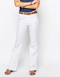 Расклешенные джинсы в стиле ретро с высокой талией Only Royal - Белый