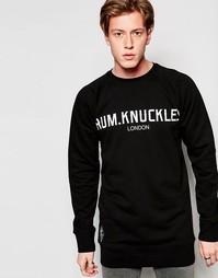Свитер с логотипом Rum Knuckles - Черный