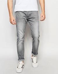 Выбеленные серые джинсы скинни Threadbare Riley - Серый