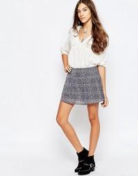 Шифоновая юбка с принтом Pepe Jeans Nori - 0 разноцветный