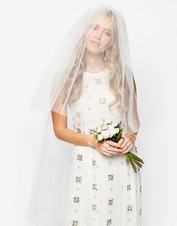 Цветочное украшение для волос ASOS WEDDING - Белый