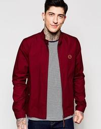 Бордовая куртка Харрингтон Pretty Green - Burgandy