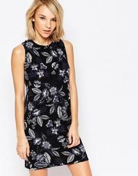 Цельнокройное платье с цветочным принтом Daisy Street