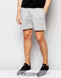 Трикотажные шорты в стиле ретро Ellesse - Серый