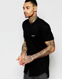 Рубашка стандартного кроя с воротником на пуговице Illusive London