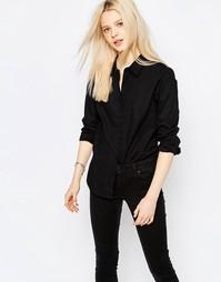 Черная рубашка с длинными рукавами JDY Lindsey - Черный1