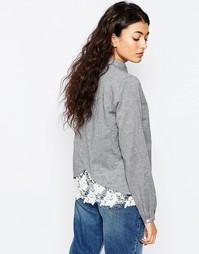 Рубашка с кружевной отделкой Vila Trade