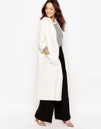 Легкое длинное пальто Helene Berman - Слоновая кость