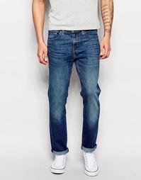 Синие состаренные суженные джинсы стретч Levis 511 Cone Mills Mr White Levi's®