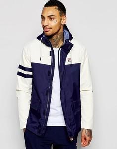 Куртка с капюшоном и вставками Fila Vintage - Бушлат
