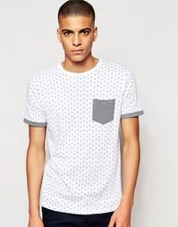 Однотонная футболка Brave Soul - Белый